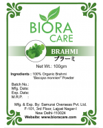 Bacopa Brahmi Powder 100 gms